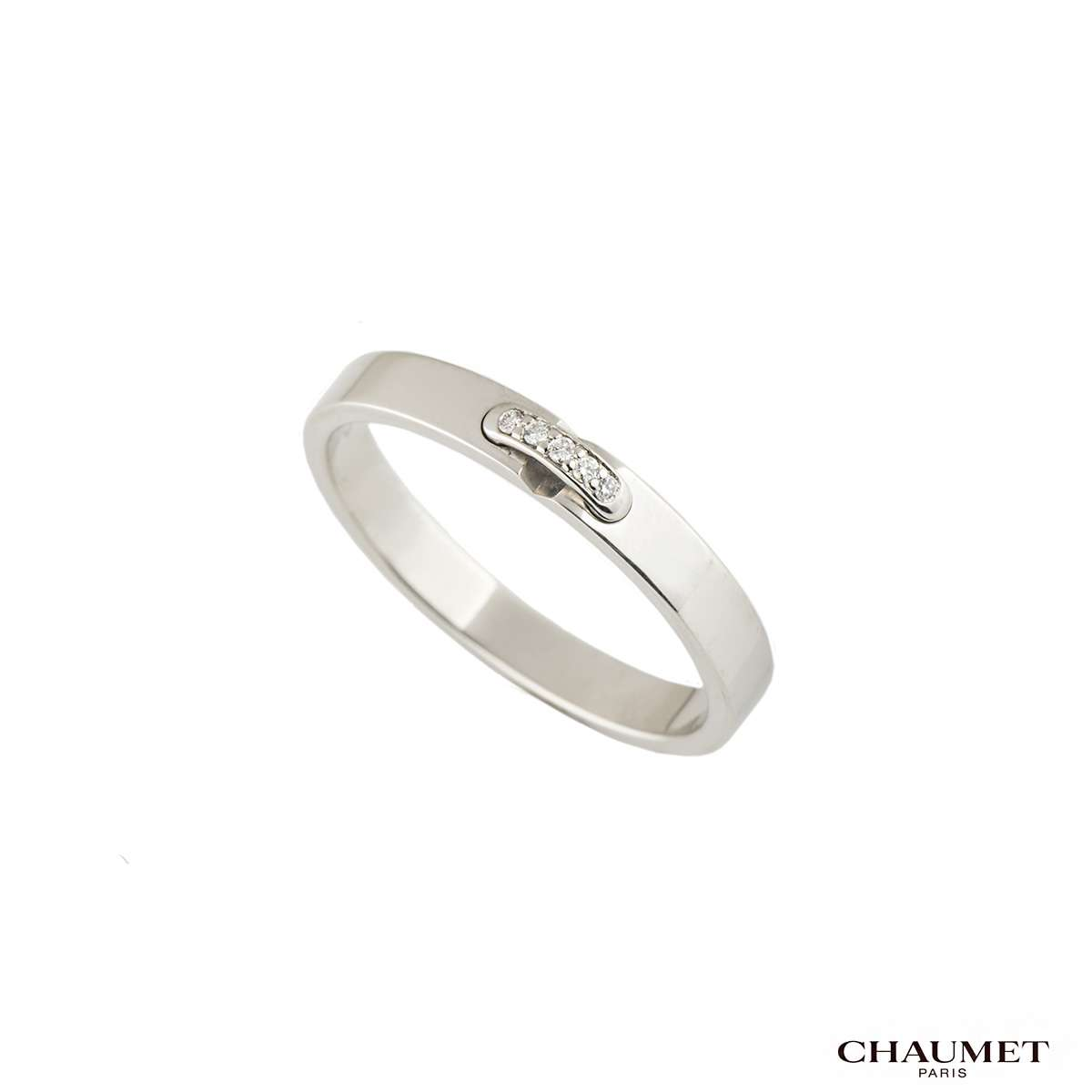 Chaumet Liens Diamond Platinum Wedding Band